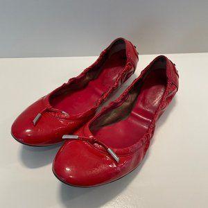 Tod's Ballet Flats RED EU 39